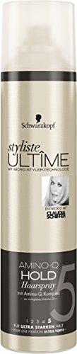 styliste ULTÎME Amino-Q Haarspray, 2er Pack (2 x 300 ml)