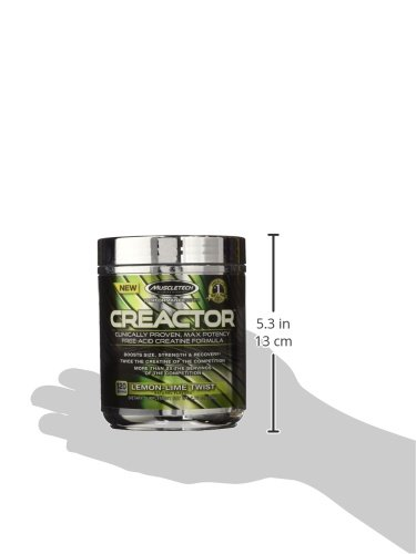 MuscleTech 220 g Performance Series Creactor Lemon Lime Creatine Powder