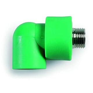 anzapack 858055t Winkelstück PPR Rohr 32mm.-Außengewinde 1