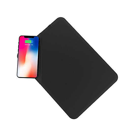 MuSheng Wireless Charger, Qi Wireless Charging Mouse Pad Ladestation Induktions Ladegerät...