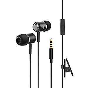 Wired Headphones, Mpow In-Ear Earbuds Stereo Earphones with Mic, Phone Control, High Definition Fits All 3.5mm Devices