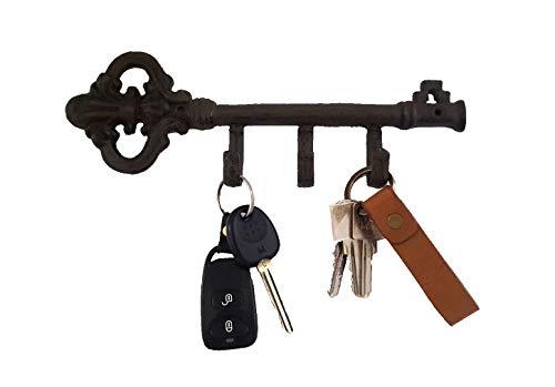 Nostalgic Home SCHLÜSSELHAKEN Garderobe Schlüssel Gusseisen 3er CE NEO