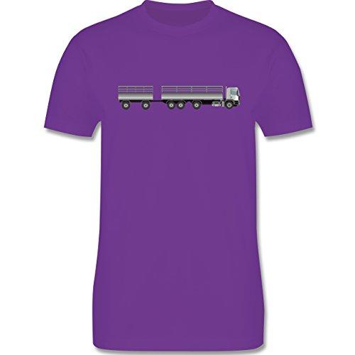 Andere Fahrzeuge - Lastzug - Herren Premium T-Shirt Lila