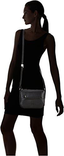 Bree Collection - Faro 1, Black, Cross Shoulder S, Borsa A Tracolla da donna Nero (black 900)