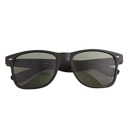 jfhrfged Mode für Männer und Frauen UV-Schutz Sonnenbrillen lässige Outdoor-Sportarten Reiten leichte Ring Schutzbrille Set (Armeegrün)