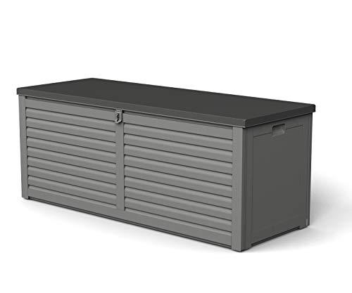 Gardiun NT390 - Arcón de resina Lift 390 litros con amortiguadores