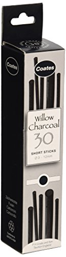 coates-willow-charcoal-assorted-30-pieces