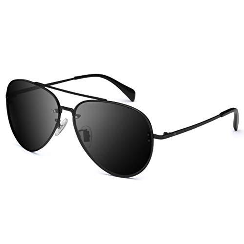 Hipster, Autofahrer, Froschspiegel, Piloten, Sonnenbrillen, Herrenbrillen mit kosmischen polarisierten Gläsern, Herrenbrillen, Brille (Color : C)
