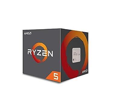 AMD Ryzen 5 1600 Processor with Wraith Spire Cooler (YD1600BBAEBOX)