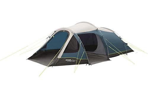 Outwell Earth 4 - Campingzelt für 3 Personen, Mehrfarbig (Beige, Schwarz, Marineblau)