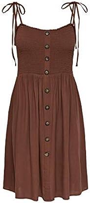 ONLY Dames Onlannika S/L Smock WVN Noos Casual Dress
