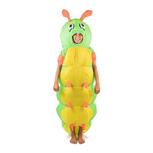Bodysocks Fancy Dress 5060298041302 Kostüm, Unisex Adult, - Für Erwachsene Raupe Kostüm