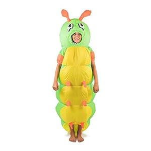 Bodysocks®  Disfraz Hinchable de Oruga Adulto