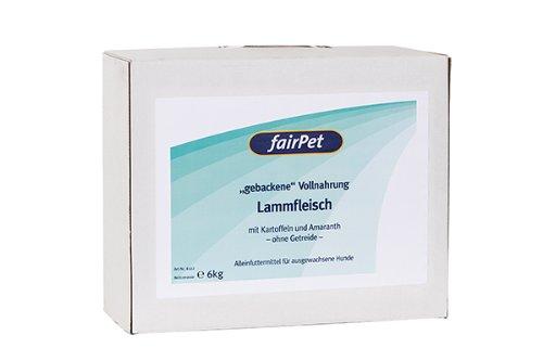 fairPet Gebackene Vollnahrung Lammfleisch (6 kg)