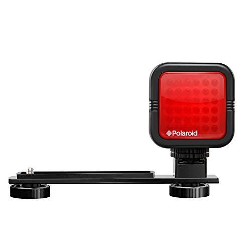 Polaroid Studio Series Wiederaufladbare IR-Nachtlicht 36 LED-Lichtleiste für Camcorder, Digitalkameras und Spiegelreflexkameras Serie Ir-filter