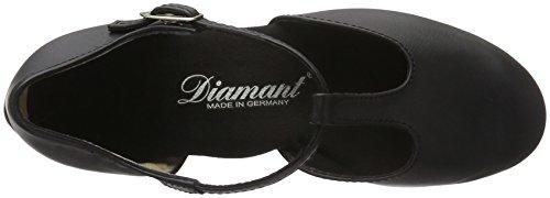Diamant Damen Tanzschuhe 053-029-034, Danse de Salon Femme Schwarz (Schwarz)