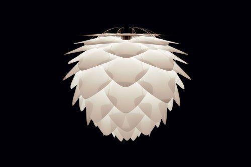 Umage/VITA Silvia Mini Hängeleuchte für A++ bis E inkl. Kabel und Fassung weiss 34 x 34 x 27 cm Lampe -