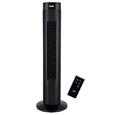 ANSIO Oscillating Tower Fan with Remote Control