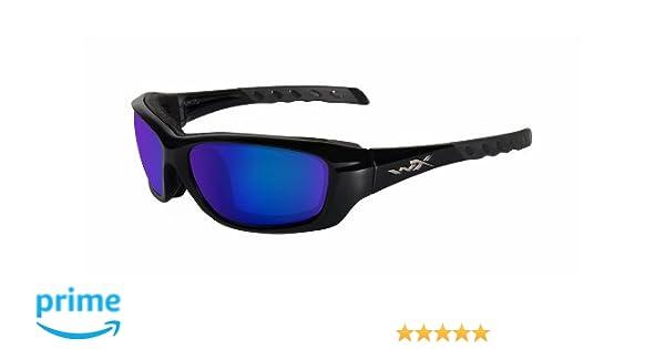 Wiley X Schutzbrille WX Vapor aus der Changeable-serie Im Set mit 3 Gläsern, Matt Schwarz, M-XL, 3502