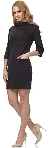 Merry Style Damen Kleid MSSE0012 Schwarz
