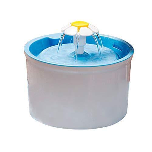louzheni Automatische Katze Hund Haustier Brunnen Haustier Schüssel Katze Trinkblume Wasserspender Petsafe Drink mit Filter Haustier Brunnen -