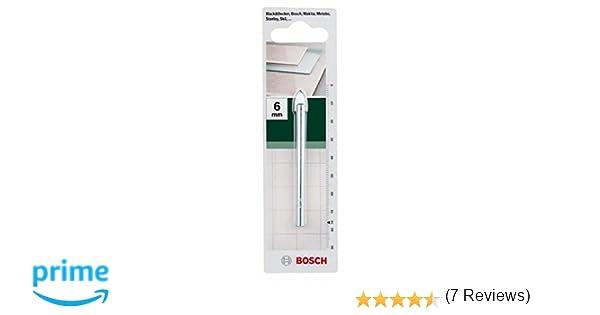 Bosch punta per vetro e piastrelle 6 x 76: amazon.it: fai da te