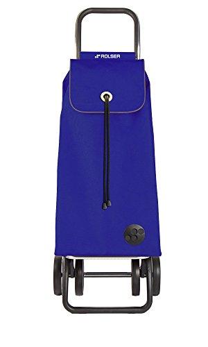 ROLSER Einkaufsroller DOS+2 / I-MAX, IMX002, 39 x 31 x 105 cm, 43 Liter, 40 kg Tragkraft, blau