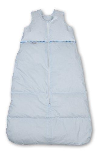 Premium Daunenschlafsack, längenverstellbar, Alterskl. älter 24 Monate, bleu, 130 cm