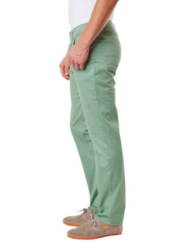 Pioneer Herren Straight Leg Hose 1680 3852 Rando Grün (green 602)