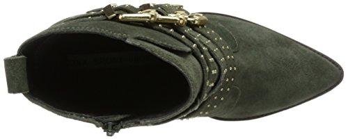 Donna Green Bronx Western Stivali Vintage Grün BX Bamericanax 1217 r8Z8xAwX