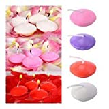#9: Nugget Floating Candles (pack of 14) perfect for New year, Candle light dinner, Valentines day, Anniversary, Birthday.