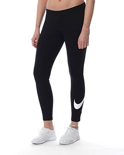 Nike Damen  Club Logo Leggings (Hose), , schwarz ,S ,815997-010