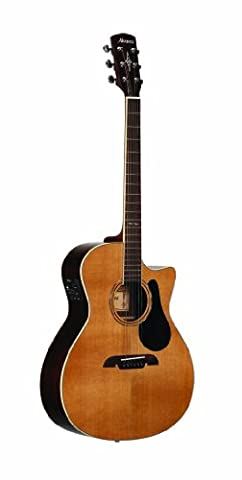 Alvarez 310281 AG75CE Grand Auditorium Electric Cutaway Acoustic Electric Guitar