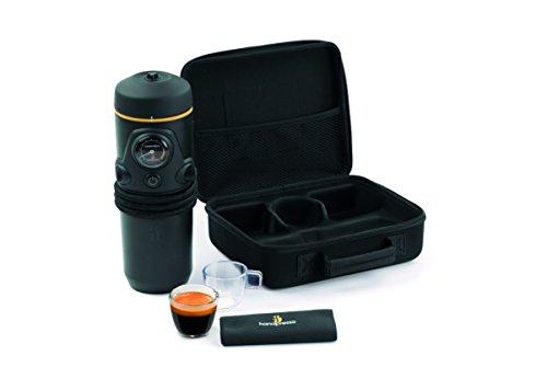 Handpresso Auto ESE 12V schwarz Premium Satz mit Tasche, Tassen