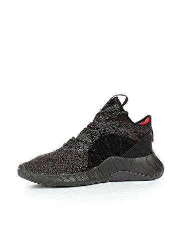 adidas Tubular Rise, Baskets Basses Mixte Adulte Multicolore - noir/rouge (Negbas / Negbas / Rojbas)