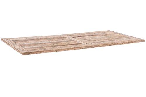 CLP Tischplatte Severus, Platte aus Ulmenholz, rustikale Esstischplatte, von dem Esstisch Severus...