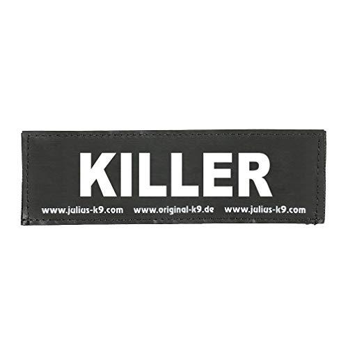 Julius-K9 162LR-G-33004 Klettaufschrift, KILLER, schwarz