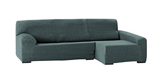Eysa italia teide chaise longue 240 cm. destra vista frontale - col. 06-grigio