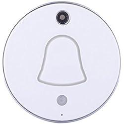 Homyl Timbre Inalámbrico con Cámara HD Alarma de Detección de Movimiento para IOS / Android - UE Plug