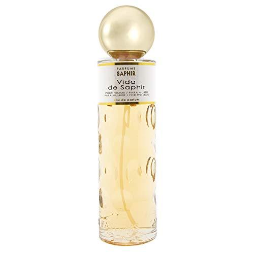PARFUMS SAPHIR Vida Eau de Parfum con Vaporizador para Mujer 400 ml