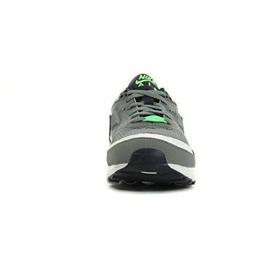 Nike Air Max Bw (Gs) Scarpe da ginnastica, Bambini e ragazzi Multicolore (Gris / Negro / Blanco (Cool Grey / Obsdn-White-Vltg Grn))