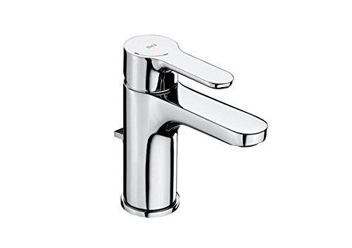 Roca A5A3I09C00 – Mezclador monomando para lavabo con desagüe automático, cold start