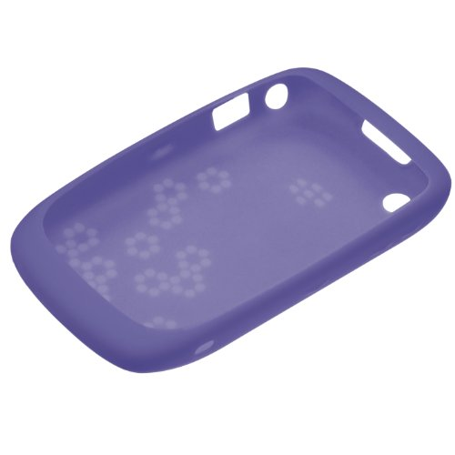 Blackberry Curve 8520 Skin (BlackBerry Silikonhülle (Skin) für BlackBerry Curve 9300 / 8520, lila)