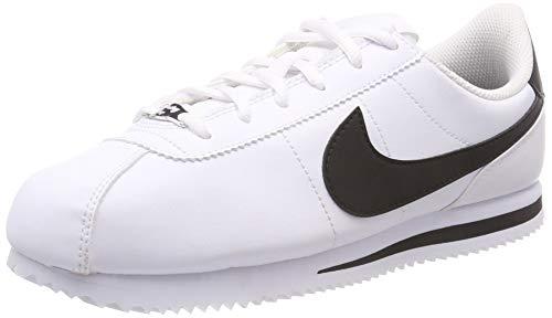Nike Cortez Basic SL (GS), Zapatillas de Deporte Unisex Adulto, (Blanco 904764 102), 38 EU
