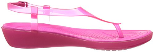 Crocs Wirklich Sexi T-Riemen Sandale Candy Pink/Candy Pink