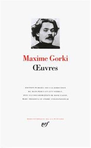 Œuvres par Maxime Gorki