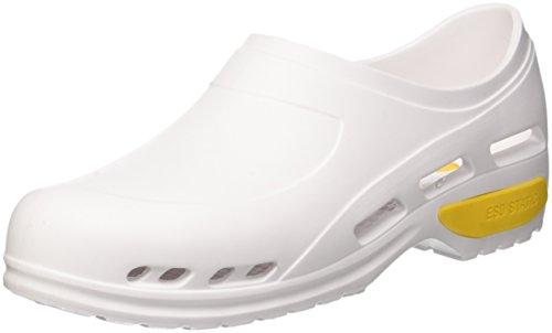 Scarpa professionale ultra leggera, zoccoli sanitari in gomma, mizura 37, colore bianco