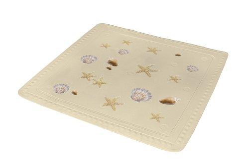 Kleine Wolke 5365226002 Duscheinlage Seashell, 55 x 55 cm, sandbeige