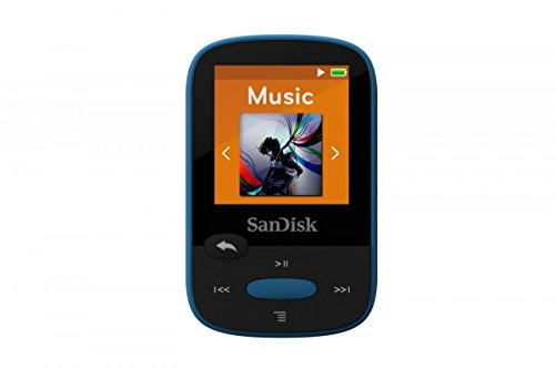 SanDisk Clip Sport 8 GB MP3 Player - Blue