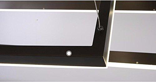 Sdkky soggiorno illuminazione led alluminio lampadario ufficio